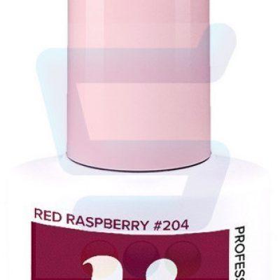 Hi Hybrid Hybrydowy lakier do paznokci Red Raspberry nr 204