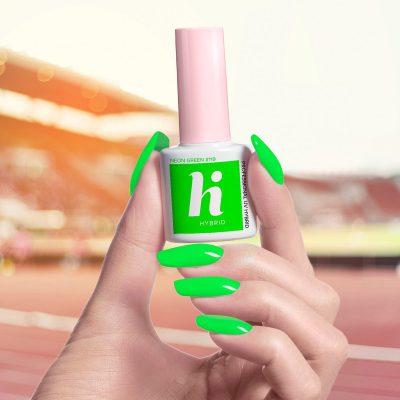 Hi Hybrid Lakier hybrydowy 5ml 119 Neon Green Hi Hybrid