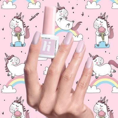 Hi Hybrid Unicorn, lakier hybrydowy 208 Bright Pink, 5 ml