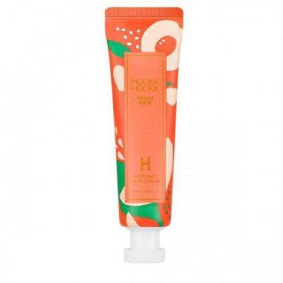 Holika Peach Date Perfumed Hand Cream nawilżający krem do rąk Brzoskwinia 30ml