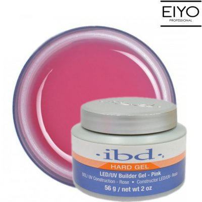 IBD BEAUTY LED/UV Builder Gel Hard Pink żel budujący - 56 g Hard Pink-56