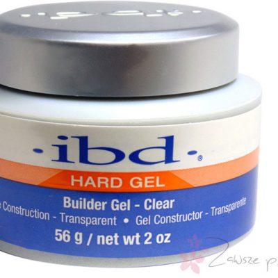 IBD Beauty żel bezbarwny HARD , żel budujący Clear, Builder Gel HARD Clear IBD -