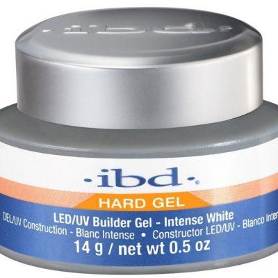 IBD Hard Gel LED/UV Builder Gel Żel budujący Intense White 14g 33513-uniw