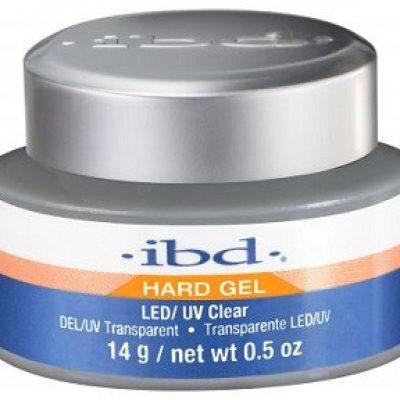 IBD Hard Gel LED/UV Clear Żel Przezroczysty 14g