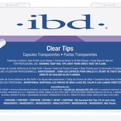 IBD Tipsy przezroczyste 100szt.