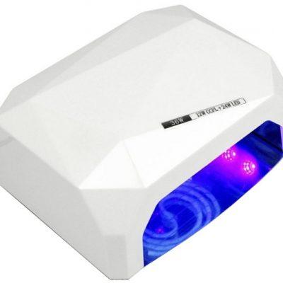 IMPORT Lampa Diamond LED CCFL UV 36W - Biała