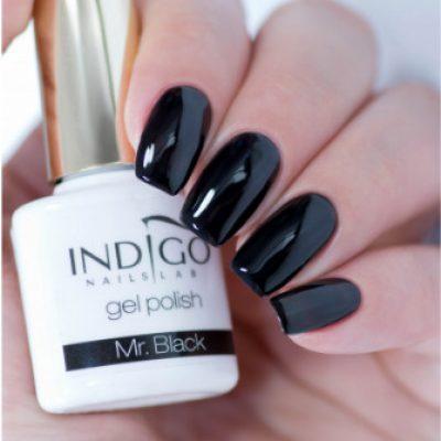 Indigo Indigo Mr. Black Gel Polish 7ml INDI307