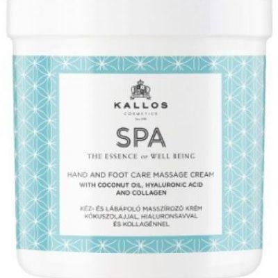 Kallos SPA Krem do pielęgnacyjnego masażu rąk i nóg 500ml