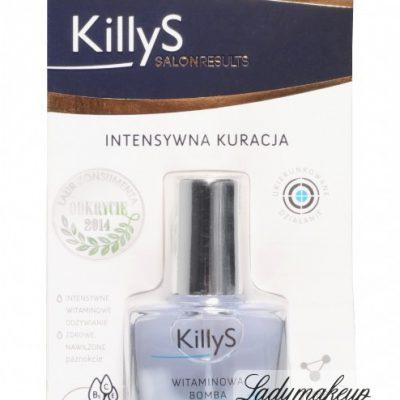 Killys Inter-Vion VITAMIN BOOSTER - Witaminowa odżywka do słabych i łamiących się paznokci - 812 KIV538124