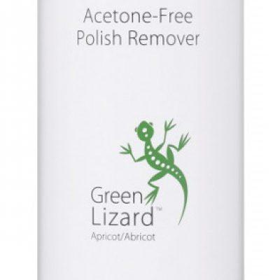 Kinetics Kinetics - Acetone-Free Polish Remover - Green Lizard Apricot - Zmywacz do paznokci bez acetonu KINZPAC