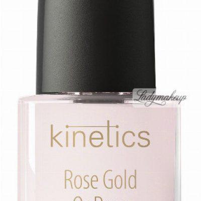 Kinetics Kinetics - Rose Gold Hardener - Wzmacniająca odżywka do paznokci - Różowe Złoto