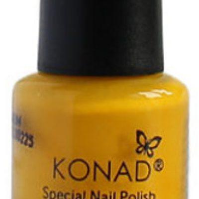Konad Lakier do wzorków KONAD - żółty - 5 ml