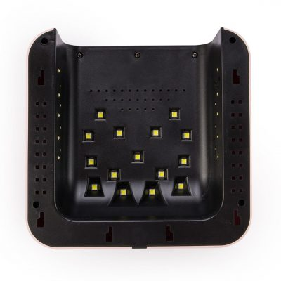 Lampa do paznokci Dual LED 60W N9 PRO różowa 10502-uniw
