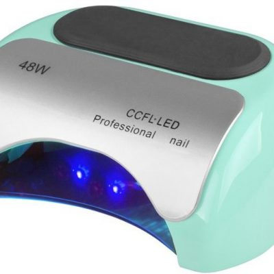 LAMPA PROFESSIONAL 2W1 UV LED+CCFL 48W TIMER+SENSOR MIĘTOWA 117978
