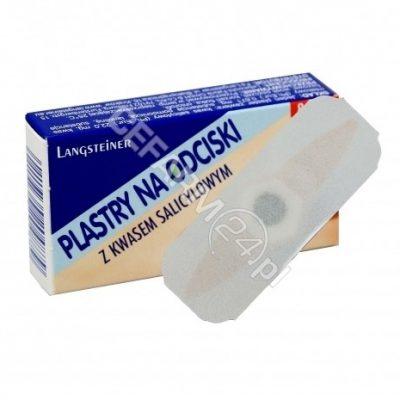 LANGSTEINER Plastry na odciski z kwasem salicylowym x 8 szt