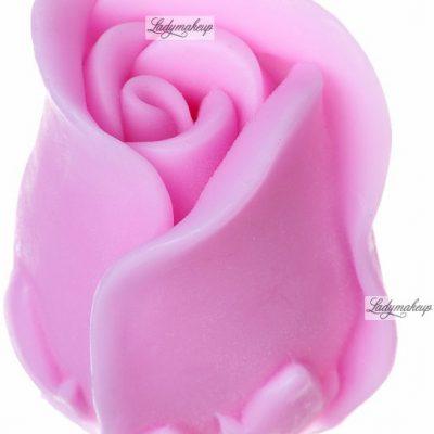LaQ LaQ - Happy Soaps - Naturalne mydełko glicerynowe - RÓŻOWY KWIAT RÓZY LA GKRZY