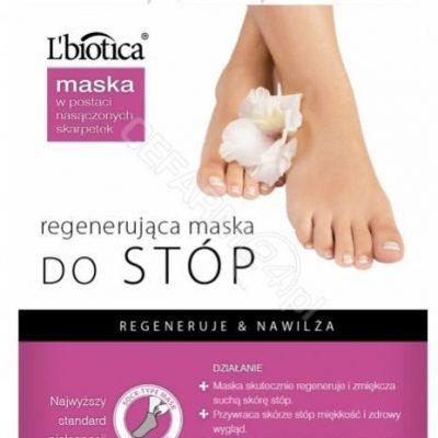 Lbiotica Regenerująca maska do stóp w postaci nasączonych skarpetek 32ml