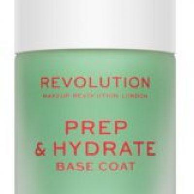 Makeup Revolution Prep & Hydrate wygładzający lakier bazowy do paznokci 10ml