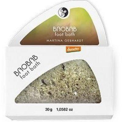MARTINA GEBHARDT Naturkosmetik BAOBAB Sól do kąpieli stóp 30 g GreenLine-669-uniw