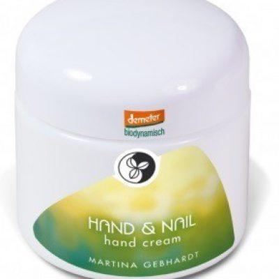 MARTINA GEBHARDT Naturkosmetik HAND & NAIL Krem do rąk 100 ml GreenLine-1018-uniw