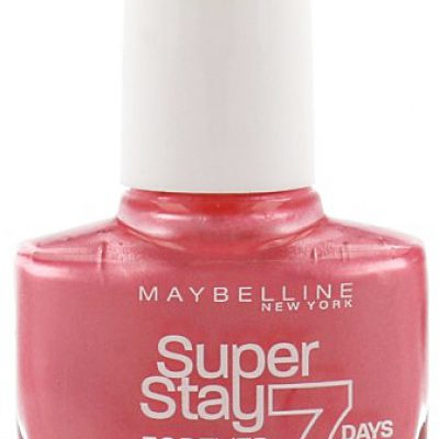 Maybelline SuperStay 7 Days Gel Nail Color Lakier Do Paznokci 01 Tornado Rose