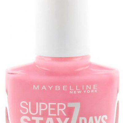 Maybelline SuperStay 7 Days Gel Nail Color Lakier Do Paznokci 120 Flushed Pink