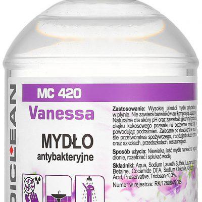 Medisept MEDISEPT MEDICLEAN MC 420 Vanessa Mydło antybakteryjne do rąk 500ml 0000061177