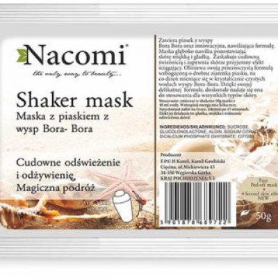 Nacomi Maska-shaker do twarzy z piaskiem z wysp Bora-Bora - Shaker Mask Maska-shaker do twarzy z piaskiem z wysp Bora-Bora - Shaker Mask