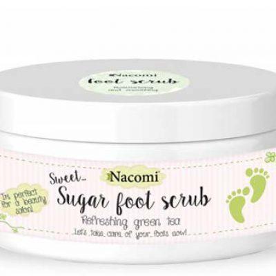Nacomi Peeling naturalny do stóp o zapachu zielonej herbaty 100ml