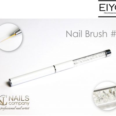 NAILS COMPANY Designerski pędzel do stylizacji paznokci nr 3 Nails Company - 11 mm