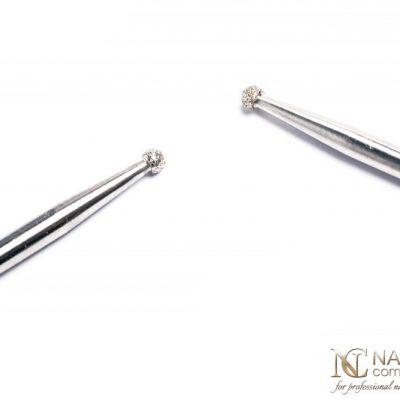 NAILS COMPANY Frez do skórek z nasypem diamentowym  Nails Company