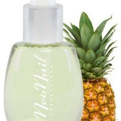 Neonail Cuticle Oil, oliwka do skórek z pipetą Pineapple, 15 ml