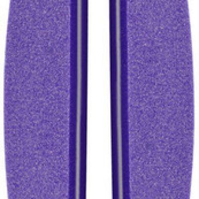 Neonail Polerka łódka 100/180 - fioletowa