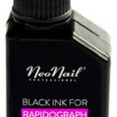 Neonail Rapidograph, tusz do rapidografu, czarny, 20 ml