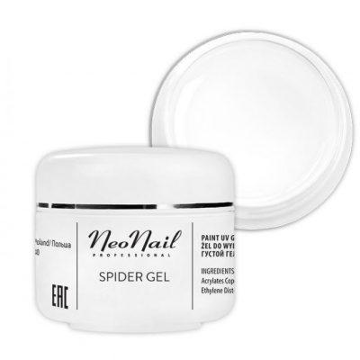 Neonail Spider Gel 5g żel do zdobień White