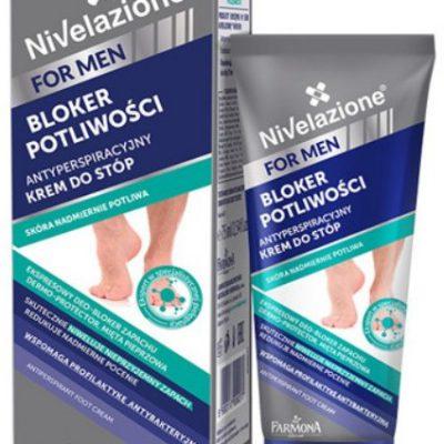 NIVELAZIONE FARMONA NIVELAZIONE MEN antyperspiracyjny krem do stóp bloker potliwości 75ml 17778