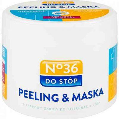 No. 36 No36 Peeling&Maska 2-etapowy zabieg do pielęgnacji stóp 250ml (2x125ml)