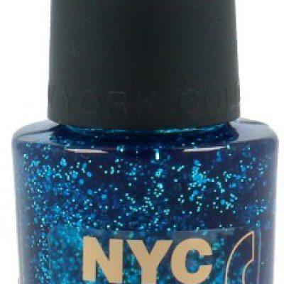 NYC Crystal Couture Glitter Nail Polish Brokatowy Lakier Do Paznokci 014 Blue Majesty