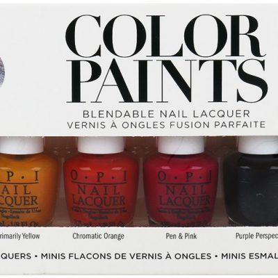 OPI Color Paints Zestaw 6 Mini Lakierów Do Paznokci