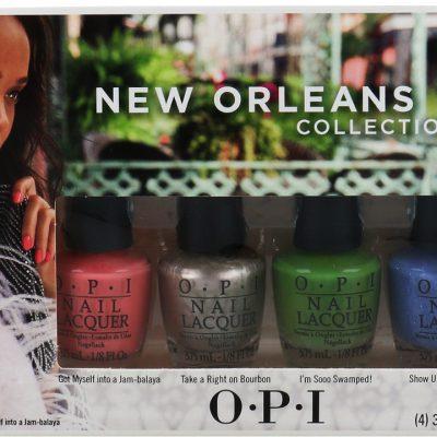 OPI New Orleans Collection Zestaw 4 Mini Lakierów Do Paznokci
