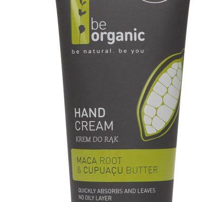 Organic Be Be Krem do rąk, korzeń Maca i masło cupuacu, 50 ml 5905279400122