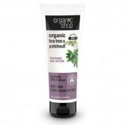 Organic Shop naturalny zmiękczający krem-balsam do stóp Barbadoskie SPA 75ml
