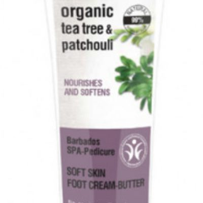 Organic Shop Organic Tea Tree & Patchouli Nourishes And Softnes kremowe masło do stóp 75ml 52826-uniw