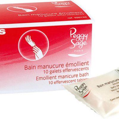 PEGGY SAGE PEGGY SAGE - Kąpiel zmiękczająca przed manicure 10 tabletek - ( ref. 550190) pakowane po 10 sztuk