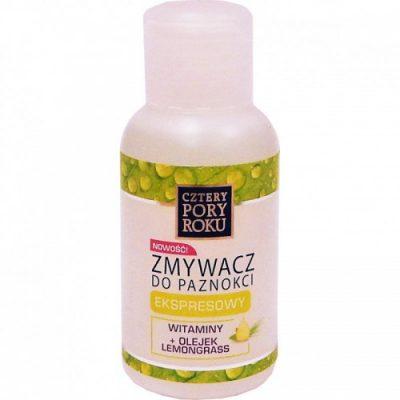 PHARMA-C-FOOD Zmywacz ekspresowy do paznokci z witaminami i olejkiem lemongrass 60ml