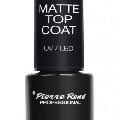Pierre Rene Pierre René - MATTE TOP COAT UV/LED - Matowy top do lakierów hybrydowych PIEMDHY