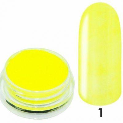 Pigment Em nail professional do zdobień Smoke Powder Hello Sunshine Nr 01 - Żółty