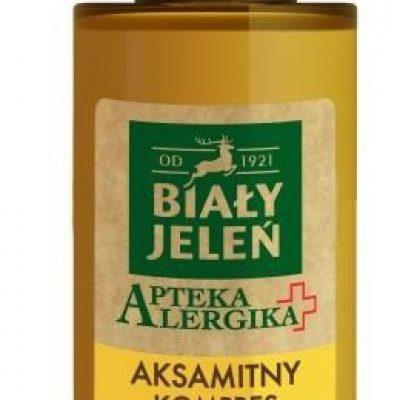 Pollena BIAŁY JELEŃ Apteka Alergika aksamitny kompres do opuchniętych nóg i stóp 150ml