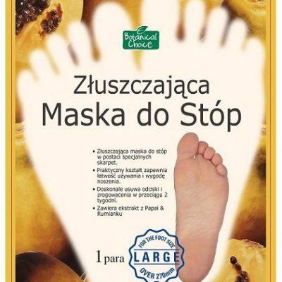 PUREDERM maska do stóp złuszczająca Large