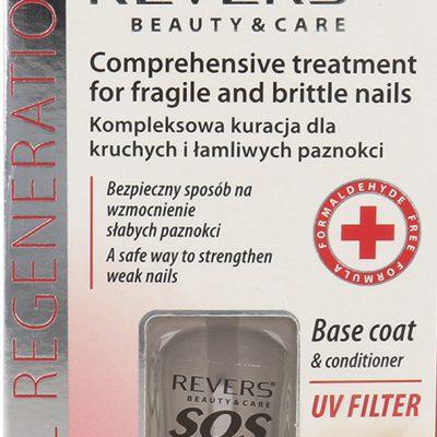 Revers Revers SOS Nails Kompleksowa Kuracja Dla Kruchych I Łamliwych Paznokci 10ml